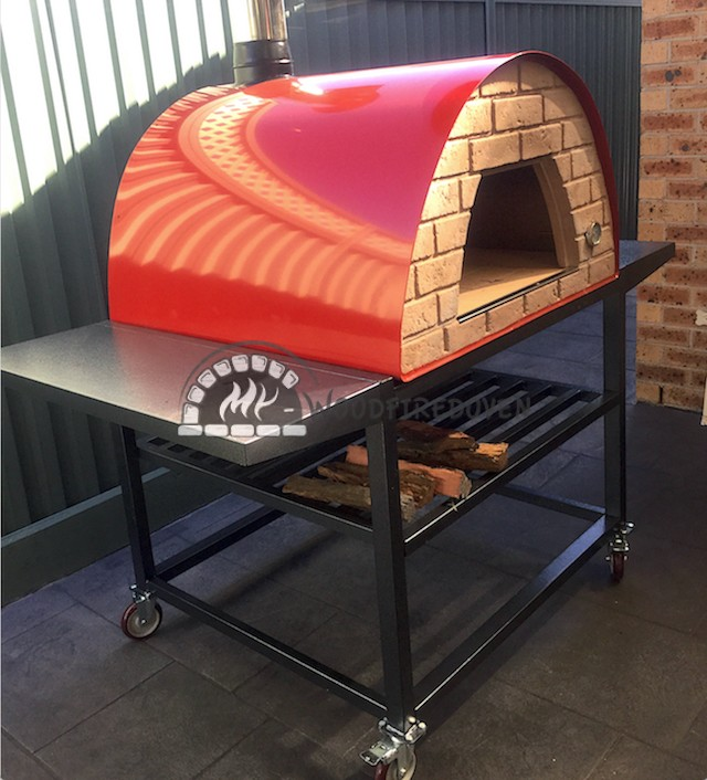 Maxi pizza oven red