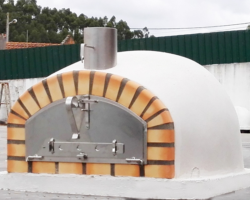 PIZZAIOLI 100 white pizza oven STAINLESS STEEL
