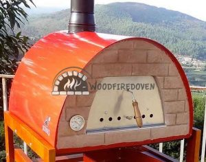 Portable pizza oven Maximus RED