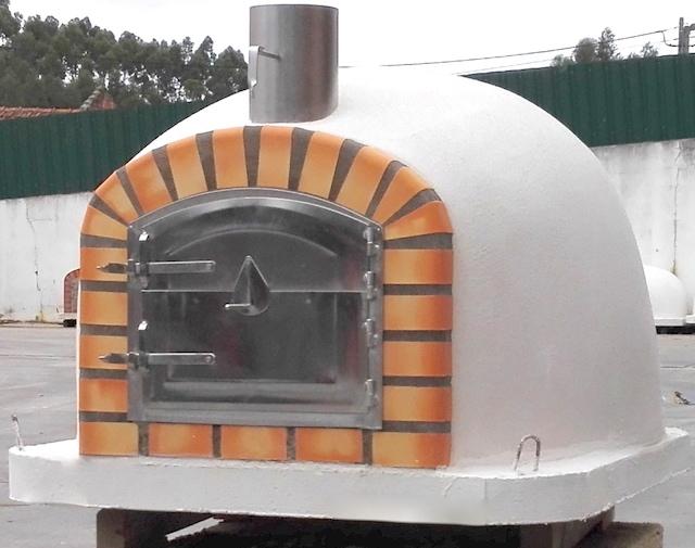 Etna pizza oven white